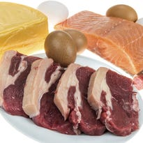 Foods like fish, beef, eggs and cheese are great sources of protein.