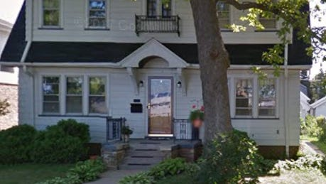 A burglar smashed a front window of this home in the 1200 block of South 77th Street in broad daylight and climbed in. He stole a video game console and two guns.