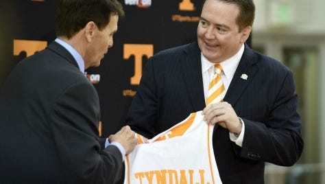 Donnie Tyndall was named coach in 2014.