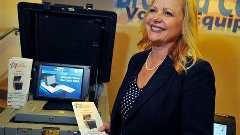 Lori Scott, Brevard County supervisor of elections.
