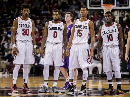 NCAA Basketball: Lipscomb at South Carolina