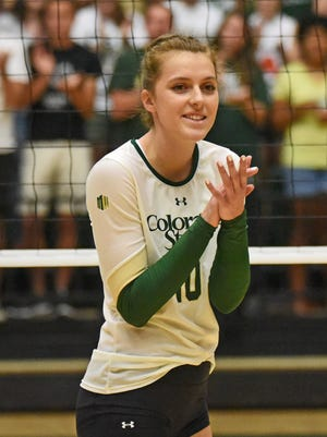 Sophomore Sanja Cizmic is a native of Croatia and was recruited by CSU after playing against former Ram Megan Plourde.
