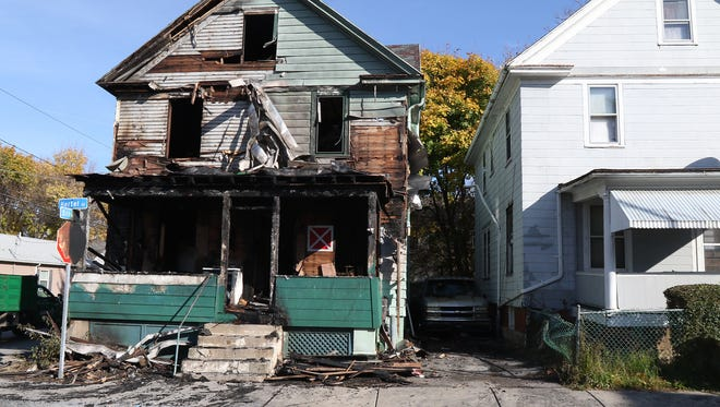 One died in a fire Monday night with six others going to the hospital.  The residents lived at 30 Hertel Street.