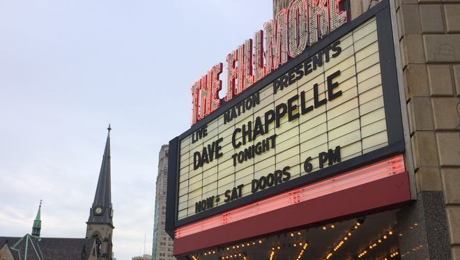 On Tuesday night, Dave Chappelle played the first of six shows at the Fillmore Detroit.