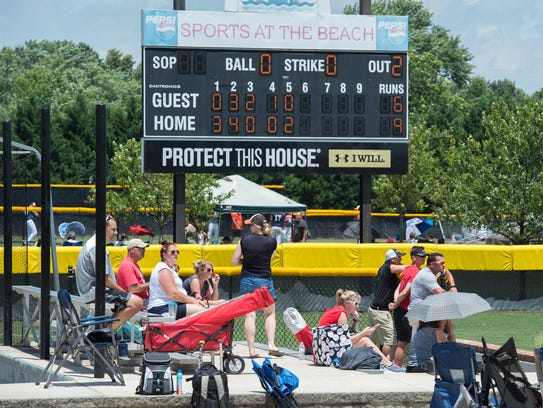 Sports at the Beach in Georgetown has an annual economic impact to the area of more than $20 million.