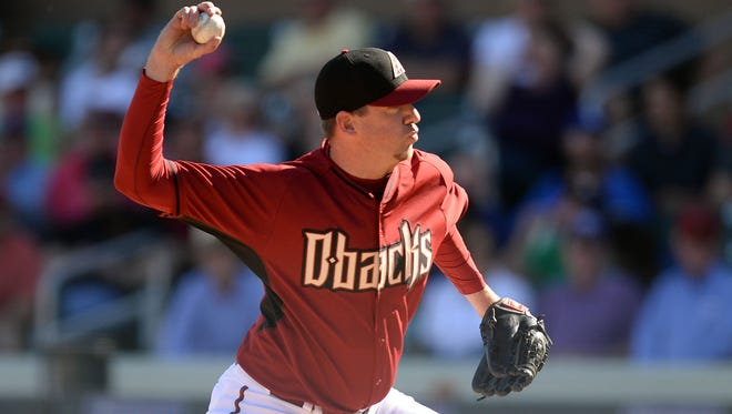 "Brad Ziegler, above, isn't afraid to speak his mind and does so often on Twitter, to the chagrin of many. ""I'd like to think that guys will, if nothing else, respect that I have an opinion,"" he says."