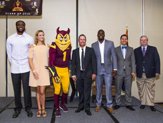 ASU Athletics Hall of Fame induction