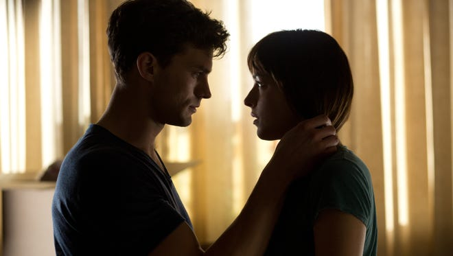 "Jamie Dornan and Dakota Johnson generate little heat in ""Fifty Shades of Grey."""