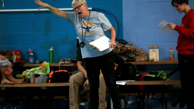 Robin Batchelor has retired after 14 years as Tuscola's boys and girls swimming coach.