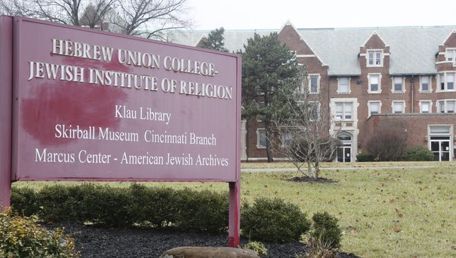 The swastika that was found painted on a Hebrew Union College-Jewish Institute of Religion was removed by noon on Tuesday.