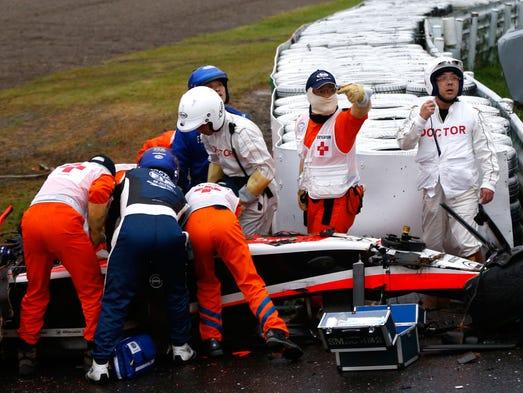 Dan Wheldon Crashed Car