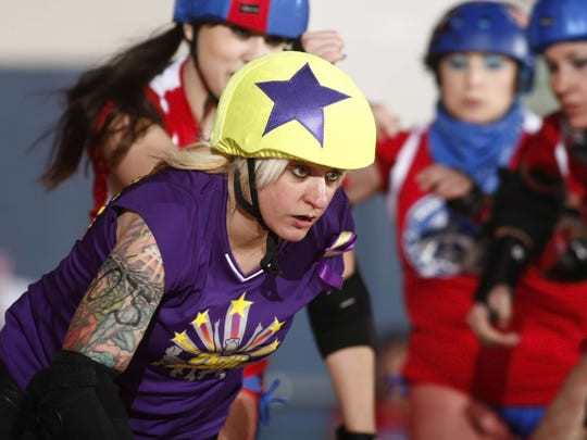 Thrill Kill Kittens bout against the Panty Raiders on Saturday.