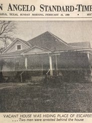A vacant house at 320 W. Harris Ave. is shown in this