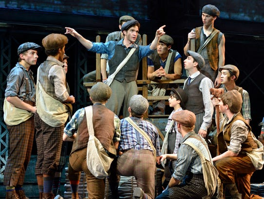 """Newsies,"" the Disney musical based on the 1992 movie"