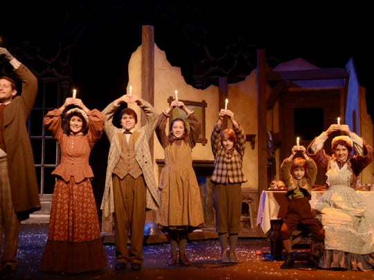 Scenes from Nebraska Theatre Caravan's production of
