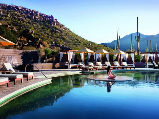 Ritz-Carlton Dove Mountain |   This perennial favorite couples the luxury expected from the Ritz-Carlton name with the views of being nestled in the extreme northwest portion of Tucson, near Dove Mountain. This resort scored high in a 2012 survey of readers done by Conde Nast. | Details: 15000 N. Secret Springs Drive, Marana, 520-572-3000, ritzcarlton.com, $$$$