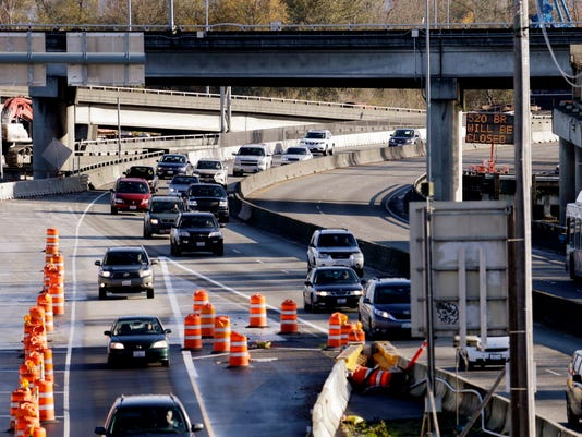 AP HIGHWAY 520 BRIDGE CLOSING A USA WA