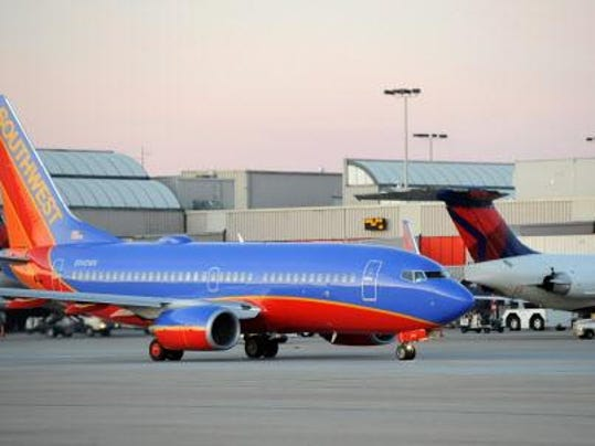 Dot says airlines improving on time performance for Plante 94 pourcent
