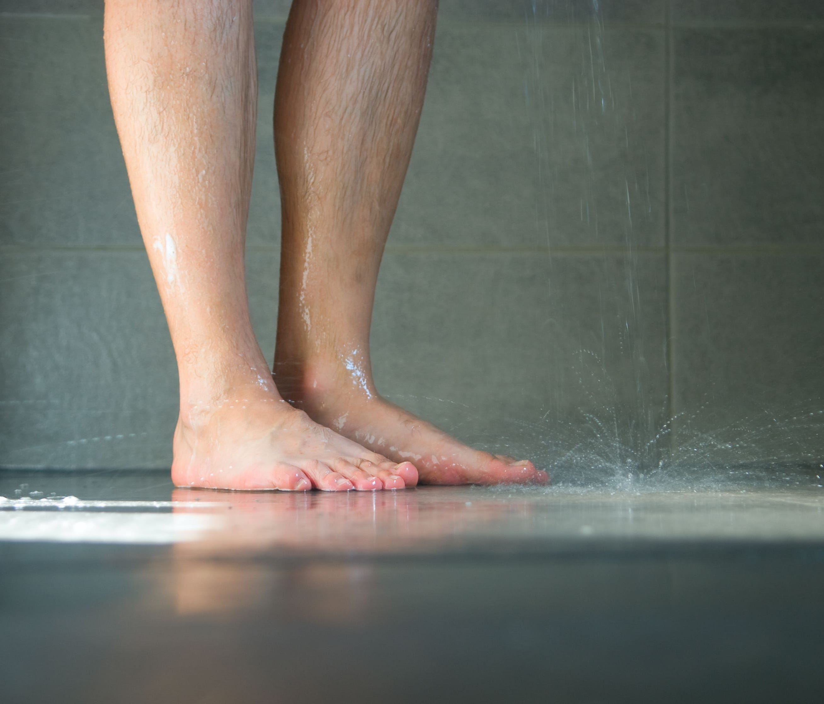 If you didn't shower for an entire year, you'd likely smell.