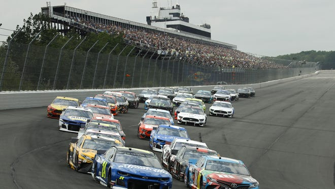 Included in the newly released schedule is a busy three-day weekend at Pocono.