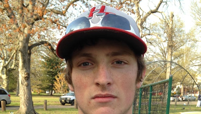Nick DeRitis struck out nine batters, including five over the last two innings, to earn the win for Haddon Township.