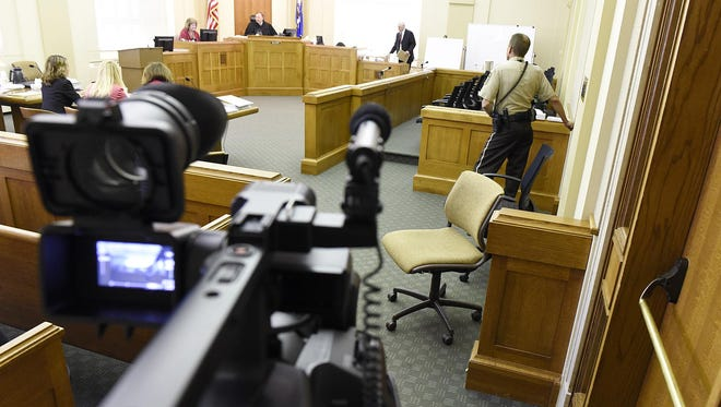 Cameras in the courts