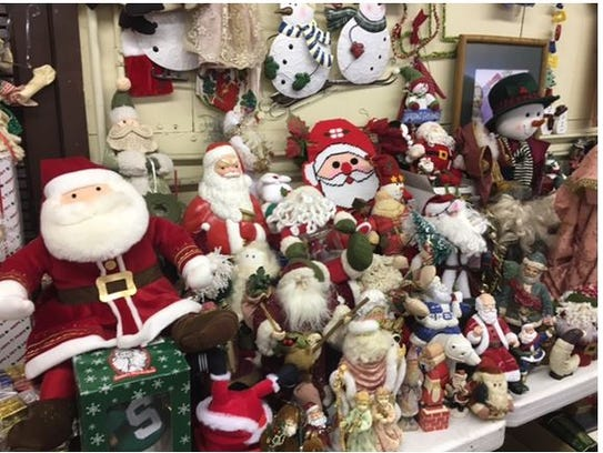 Holiday decorations and just about everything you could