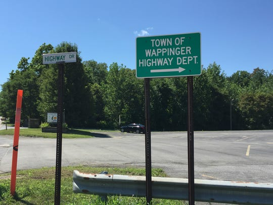 Town of Wappinger Highway Department sign