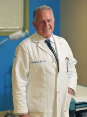 Per Montego-Pearson, M.D. F.A.C.S., will be honored as Inspira Health Network's Physician of the Year, Monday, Oct. 10, 2016 at his office in Vineland.
