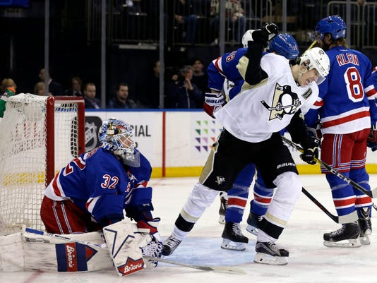 USP NHL: STANLEY CUP PLAYOFFS-PITTSBURGH PENGUINS S HKN USA NY