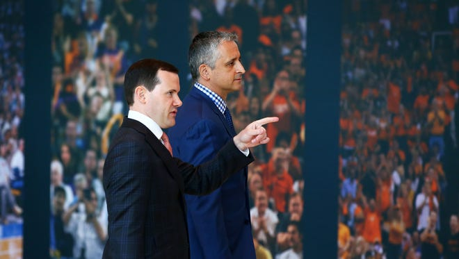 """They don't think I need a mentor coach. That's not an issue. Let's find the best people,"" Suns coach Igor Kokoskov said of the assistant-hiring process."