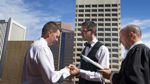 Phoenix Municipal Court Judge Kevin Kane marries same-sex