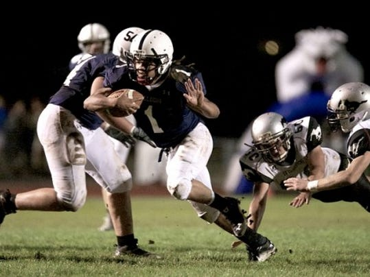West York RB Mike Bell ran for 138 yards and two TDs on 14 carries Friday.