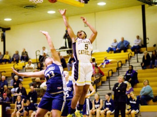Sierra Moore had 24 points in a season-opening win against Bishop McDevitt.