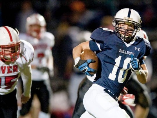 West York's Zack Smith leads the YAIAA in receptions, receiving yards and touchdown catches through seven weeks.