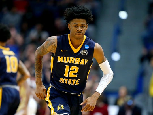 Ja Morant is projected a top-three pick in the 2019 NBA Draft.