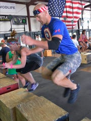 '21 Guns, a Memorial Day Salute' at Crossfit on Lagoon Business Loop on Monday, May 26, 2014.