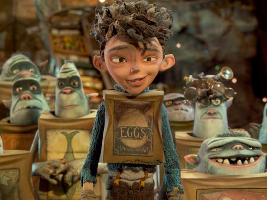 "The ""Boxtrolls"" character Eggs, a puppet, has ""very"