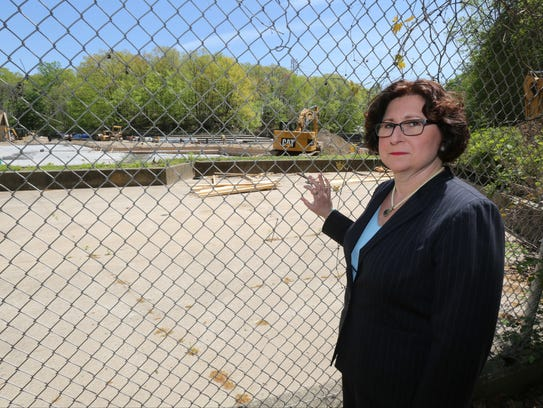 Westchester County Legislator Mary Jane Shimsky, shown at Sprain Ridge Park in May 2017, is sponsoring a bill she says will help fight the drug epidemic.