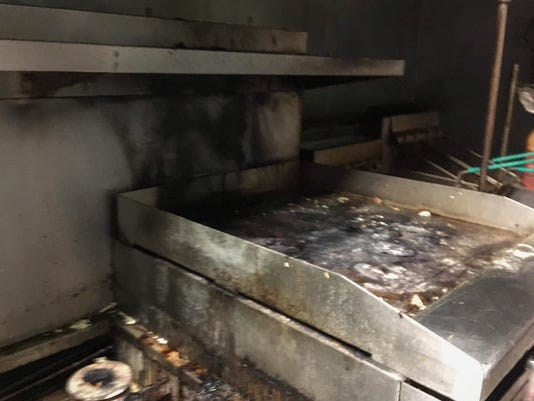 Patty O's kitchen fire