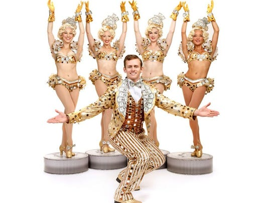 """The latest national tour of """"42nd Street"""" harks back to the glitz and glamour of the original Busby Berkeley film."""