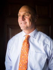 Dr. Jim Clements, president of Clemson University,