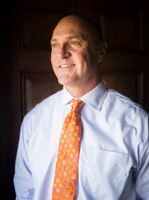 Dr. Jim Clements, president of Clemson University, stands for a portrait on Monday, December 12, 2016 in Anderson.