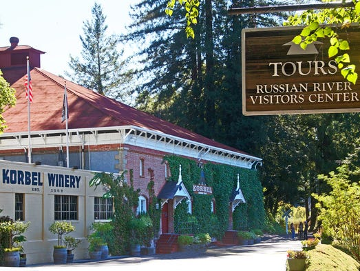 Korbel Champagne Tours