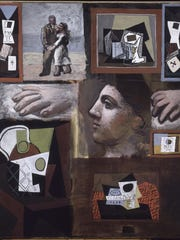 'Pablo Picasso, Studies, 1920' is an oil on canvas work by Pablo Picasso.