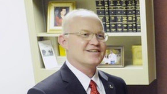 Rep. David Standridge, R-Hayden on Tuesday, April 9,
