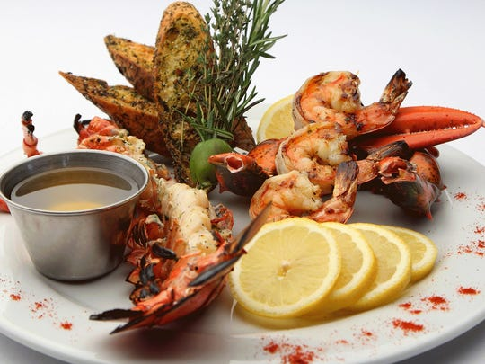 Seafood is the main attraction on the BoatYard Grill's menu.