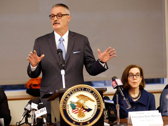 U.S. Attorney for the District of Oregon Billy J. Williams,