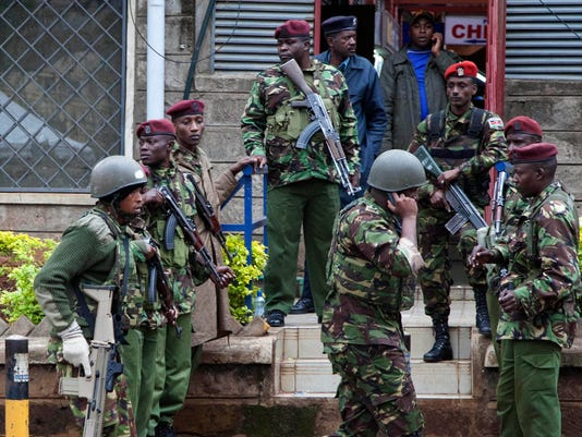 Kenya mall security attack