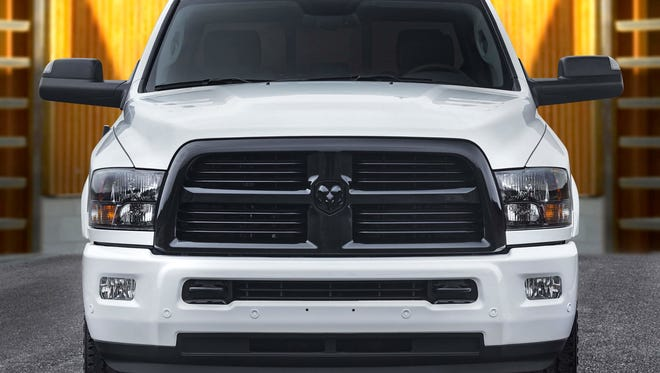 The possible collapse of the North American Free Trade Agreement was a factor in Fiat Chrysler's decision to move production of this Ram Heavy Duty truck from Saltillo, Mexico to Warren Truck
